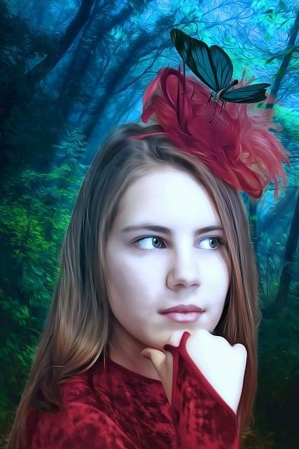 Girl, Portrait, Girl Portrait, Female, Natural