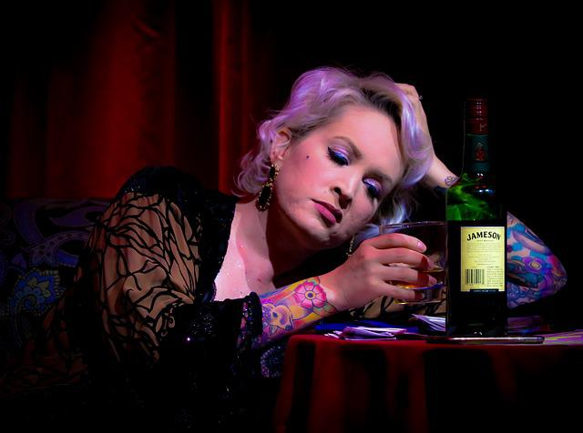 People, Portrait, Adult, Drink, Woman, Alcohol, Bar