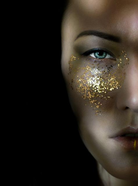 Woman, Darkness, Person, Portrait, People, Eye, Lip