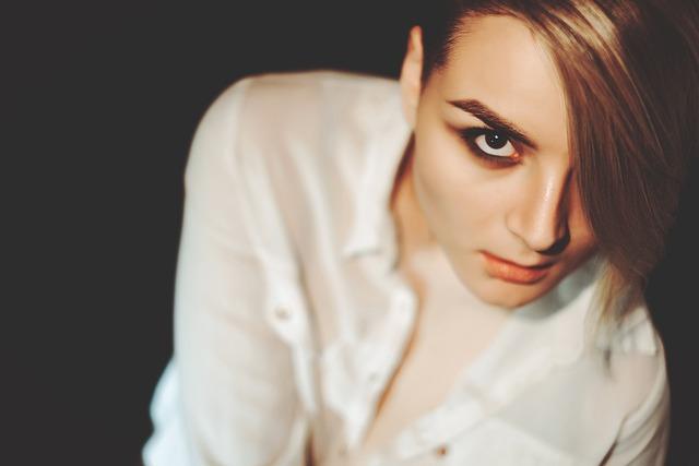 Girl, Model, Portrait, View, Lips, Eyes, Person