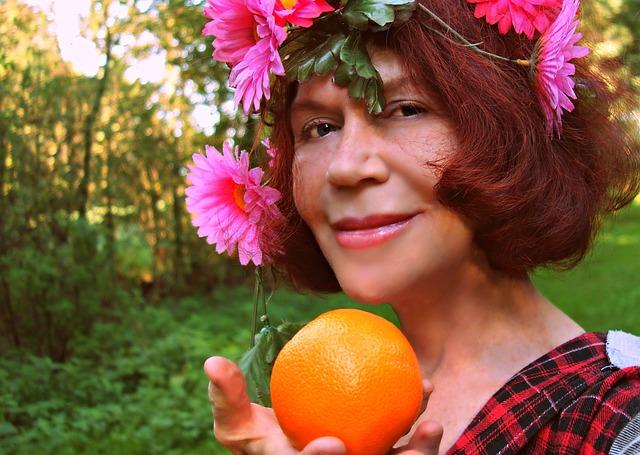 Portrait, Face, Smile, Woman, Style, Hippie