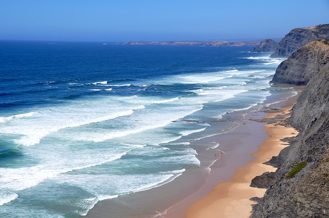 Beach, West Coast Algarve, Portugal, Atlantic