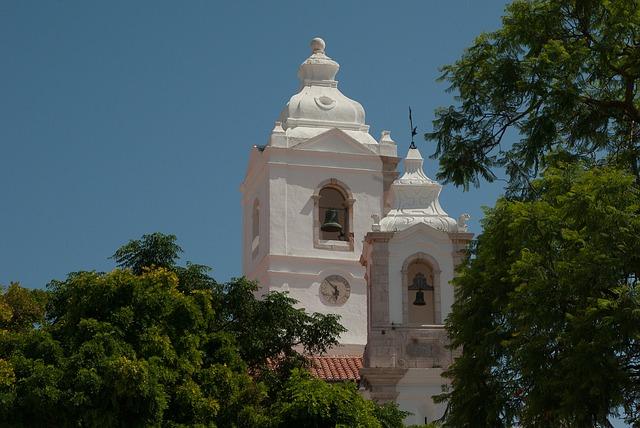 Portugal, Church, Bell Tower, Bells