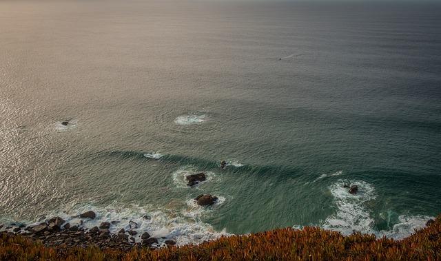 Cabo Da Roca, Portugal, Reef, Sea, Ocean