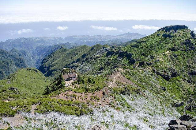 Madera, Mountains, Sewn, Nature, Landscape, Portugal