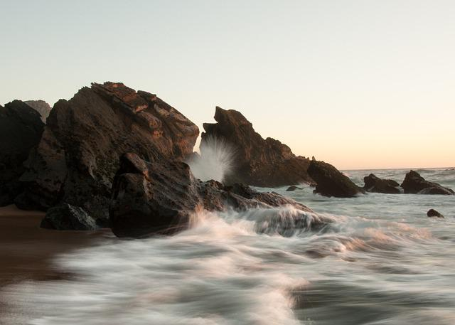 Wave, Rocks, Ocean, Sintra, Portugal, Sea, Atlantic