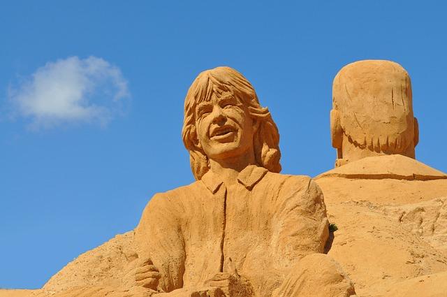 Sand Sculpture, Sand, Sculpture, Art, Statue, Portugal