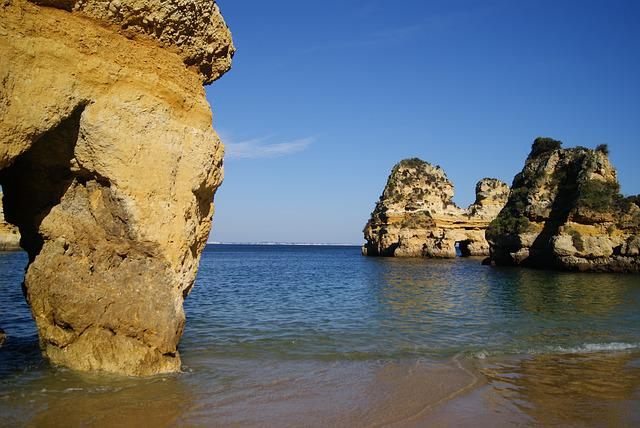 Algarve West Coast, Portugal, Tourism, Beach