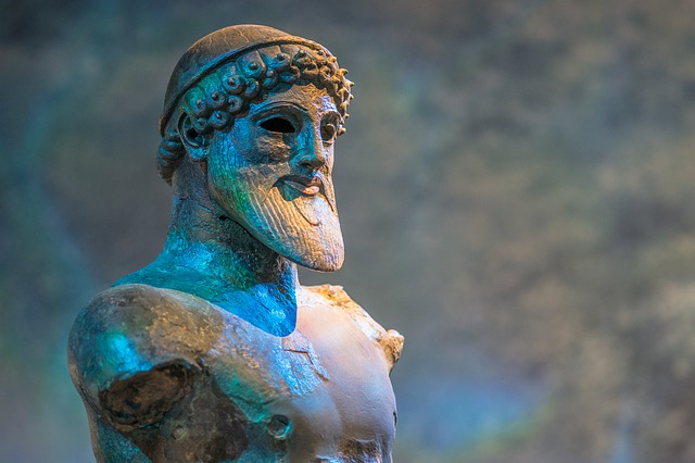 Poseidon, God, God Of The Sea, Mythology, Statue