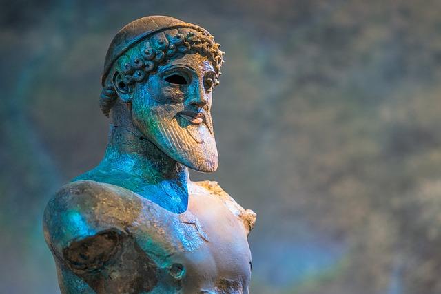 Poseidon, God, God Of The Sea, Mythology, Statue