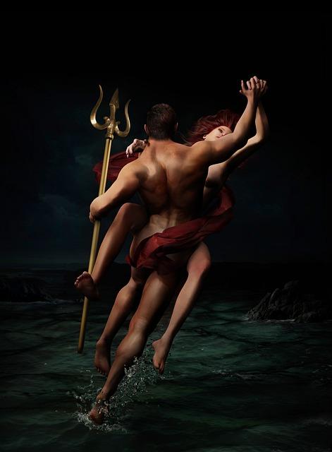 Poseidon, Myth, Mythology, Trident, Neptune, Ancient