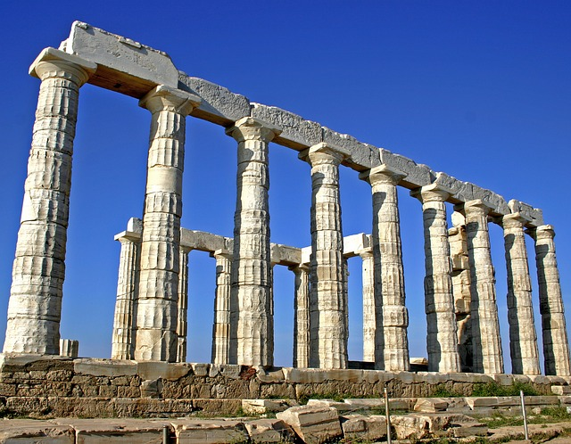 Greece, Poseidon, Temple, Ancient