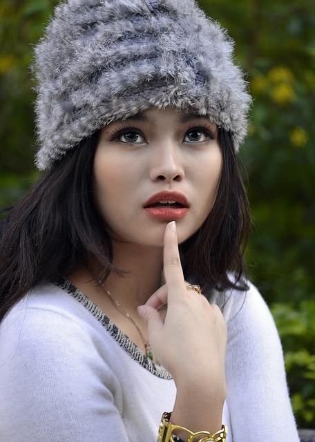 Model, Jojo, Portrait, Glamour, Winter, Hat, Posing