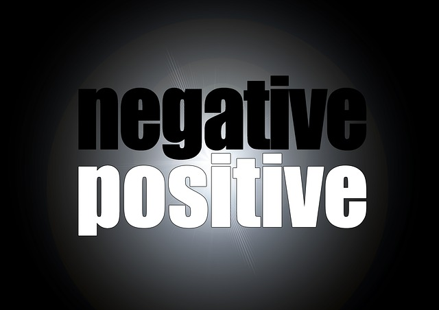 Positive, Negative, Contrast, Opposition, Self Image