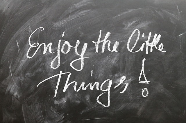 Positive, Think, Saying, Small, Things, Subtleties, Joy