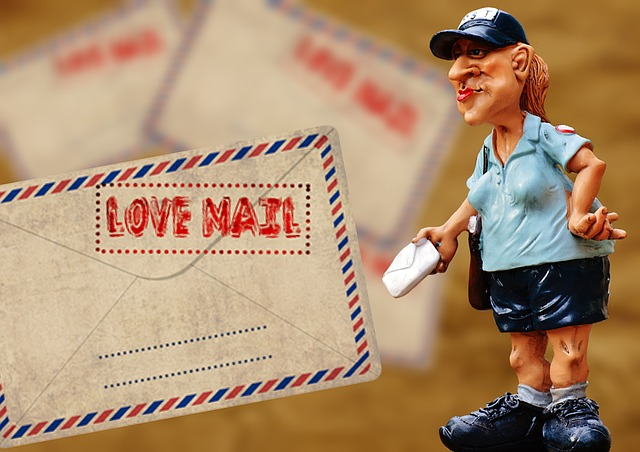 Post, Mailwoman, Letters, Shipping, Delivery Person