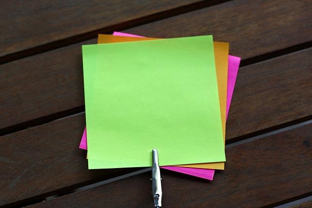 Sticky Notes, Blank, Sticky Note, Post Notes, Post