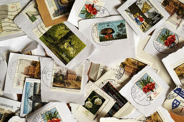 Postage Stamps, Post, Write, Letters, Porto, Stamp