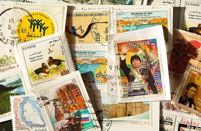 Stamps, Philately, Post, Mail, Collection