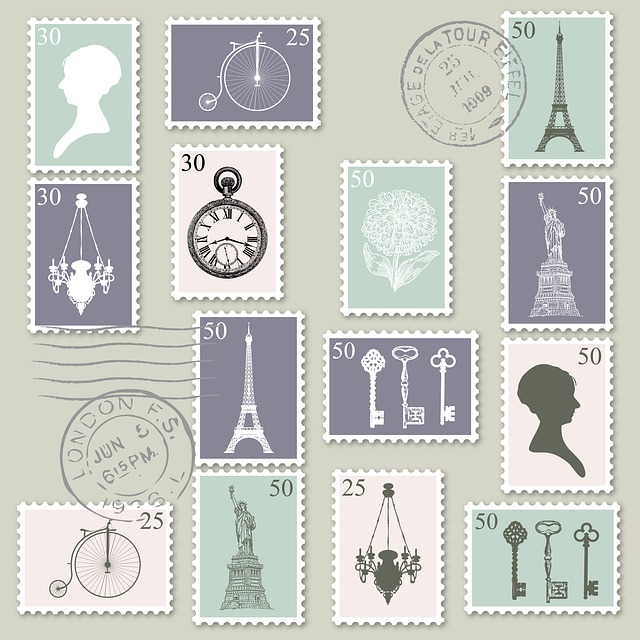 Postage, Stamps, Postage Stamps, Postmark, Europe