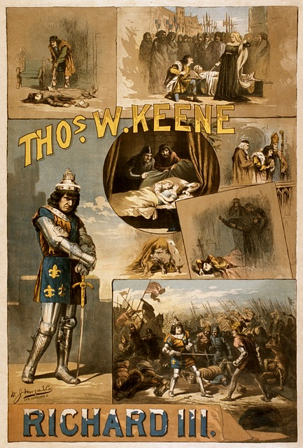 William Shakespeare, Richard Iii, Poster, 1884