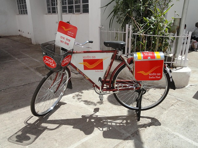 Postman Bike, Post Office, India, Bicycle, Bike, Cycle
