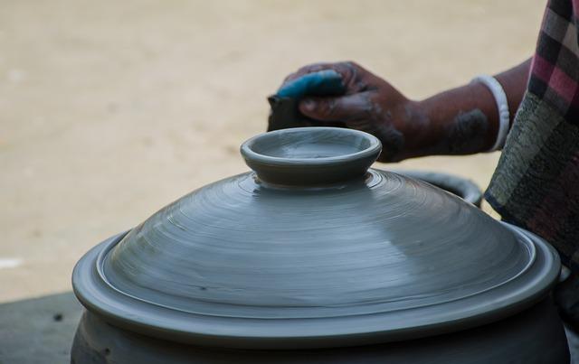 Made, Soil, Pot, Hand