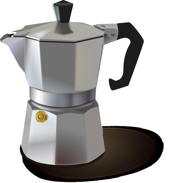 Percolator, Metallic, Pot, Metal, Old, Coffeemaker