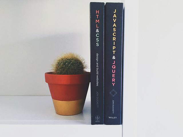 Books, Cactus, Knowledge, Plant, Pot Plant