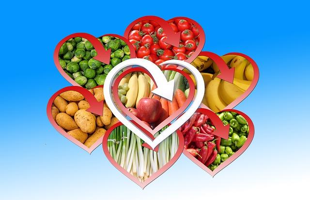 Fruit, Vegetables, Bless You, Eat, Heart, Potato
