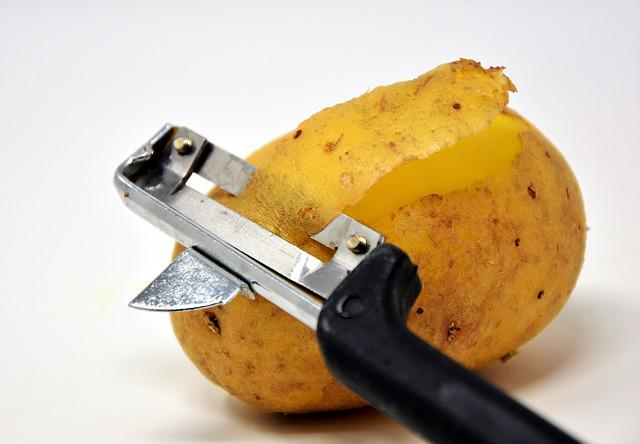 Potato, Potato Peeler, Potato Skins, Peel Potatoes