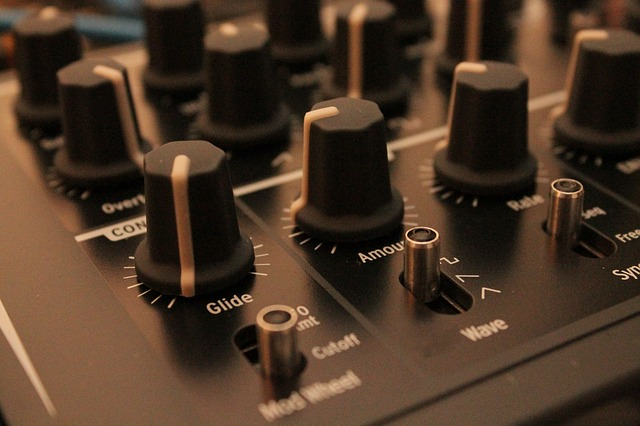 Music, Sequencer, Synthesizer, Potentiometers