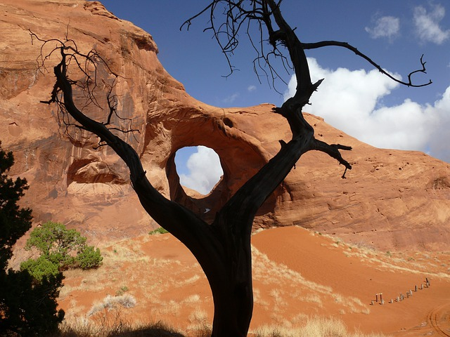 Ear Of The Wind, Arch, Sandstone, Pothole Natural Arch