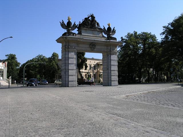 Potsdam, Nauener Tor, Architecture, Germany