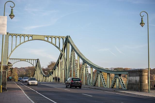 Bridge, Glienicke, Berlin, Potsdam, Agent-exchange