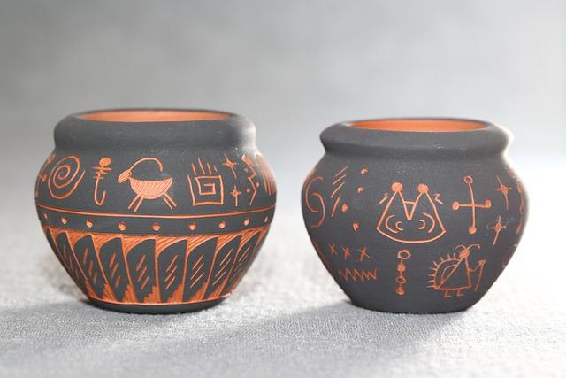 Navajo, American Indian, Pottery, Vase, Craft, Clay