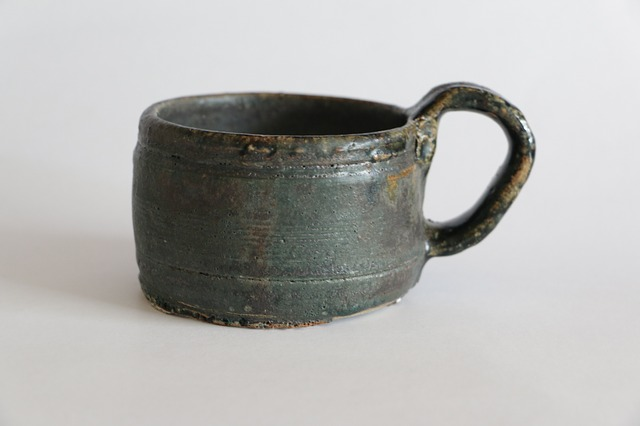 Rustic, Cup, Handmade, Vintage, Pottery, Stoneware