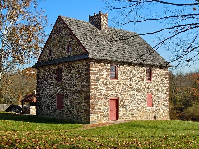 Henry Antes, House, Pottstown, Pennsylvania, Stone