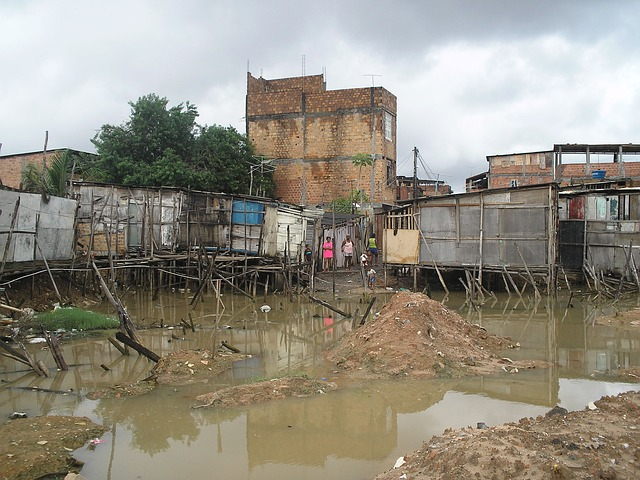 Flooded, Poverty, Misery, Poor, Hovel