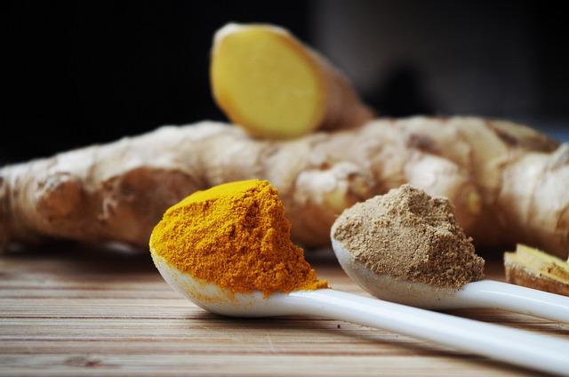 Ginger, Powder, Cooking, Ingredients, Fragrant