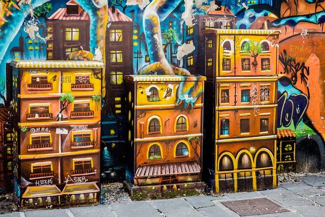 Power Boxes, Graffiti, Milan, Via Santa Croce, Wall
