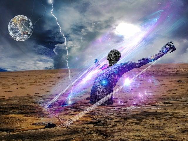 Earth, Strength, Power, Lighting