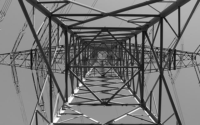 Strommast, Current, Power Line, Power Poles