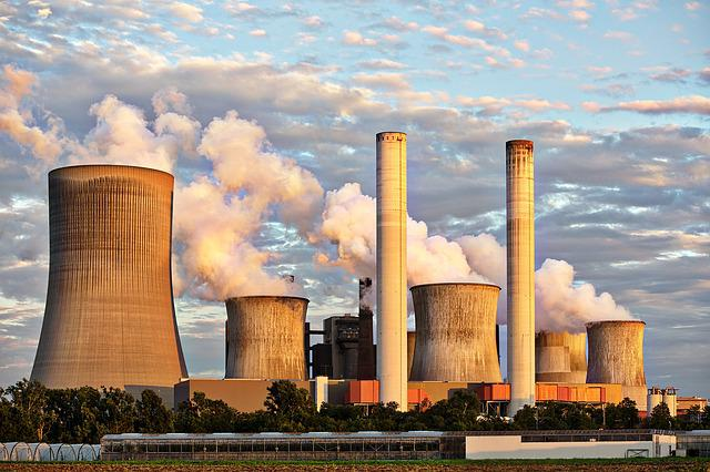 Power Plant, Industry, Chimney, Industrial Plant, Smoke
