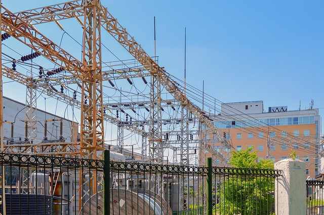Power Plant, Electric Power, Electricity