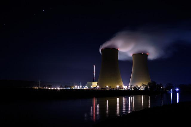 Power Plant, Melancholy, Smoke, Long Exposure