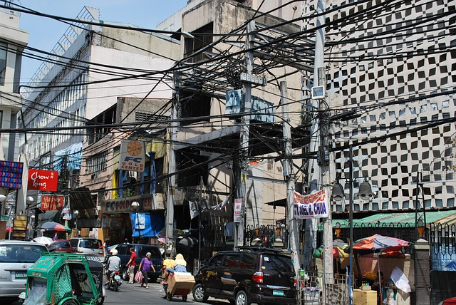 Manila, Cable Salad, Power Cable, Power Supply