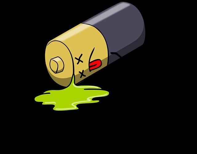 Dead Battery, Leak, Leakage, Charge, Power Supply