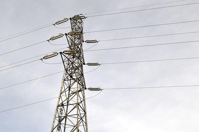 Electrical, Voltage, Power, Wire, Distribution, Energy
