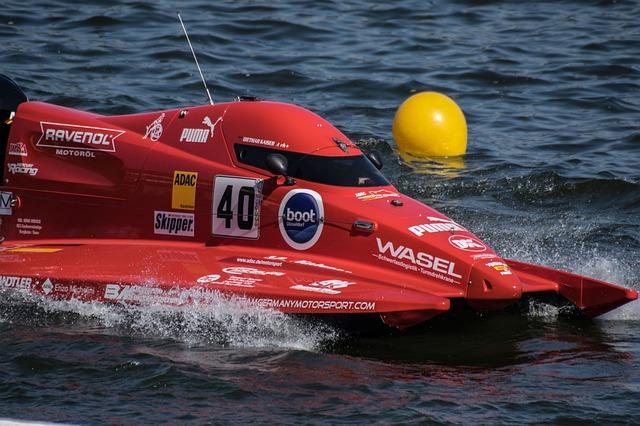 Motor Boat Race, Racing Boat, Water Sports, Powerboat